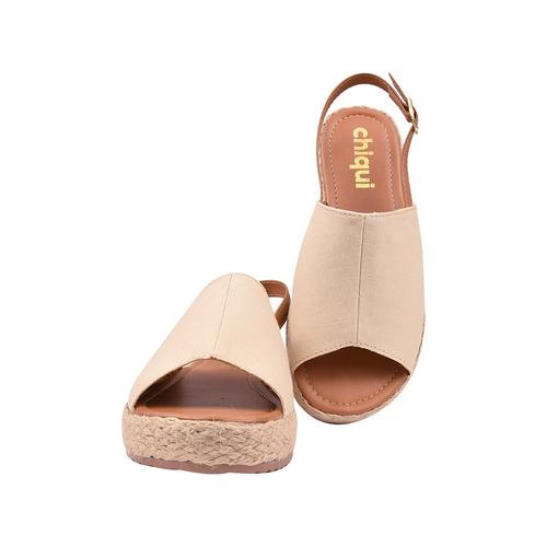 sandália feminina salto anabela flatform jln-2
