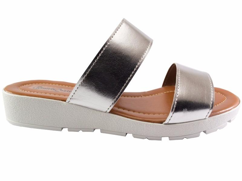 fb35fc7b51 sandália feminina salto anabela tratorada plataforma 635. Carregando zoom.