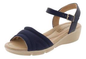 e454800a8 Sandalia Calcanhar Fechado Comfortflex - Sapatos com o Melhores Preços no Mercado  Livre Brasil