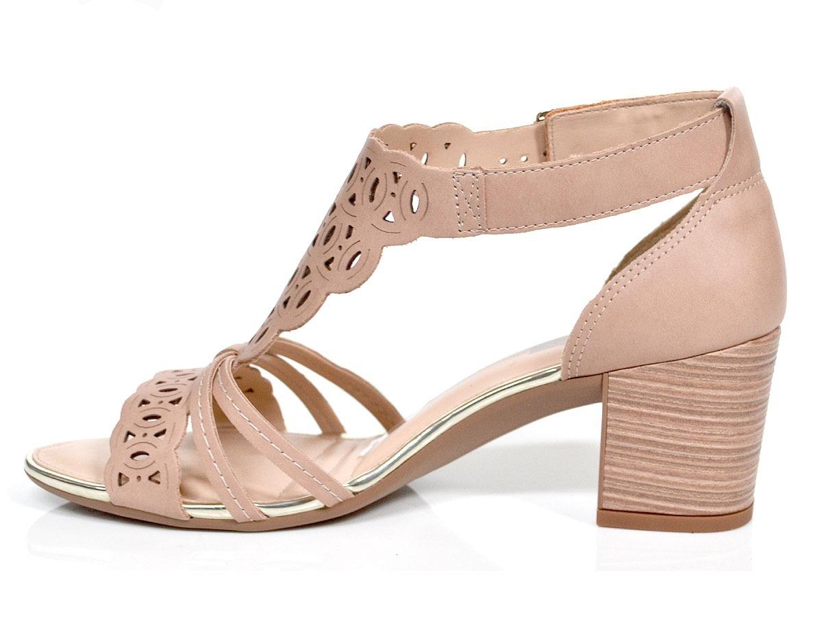 91966de991 sandália feminina salto baixo grosso original dakota z3474. Carregando zoom.