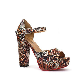 8d4a046428 Sandalia Oncinha - Sapatos no Mercado Livre Brasil