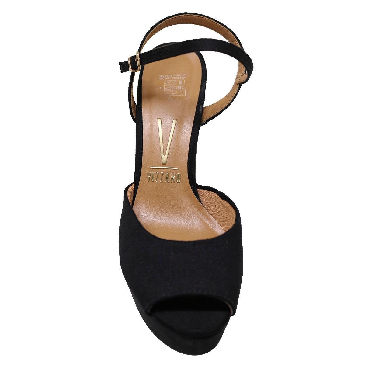 577cee420 sandália feminina salto grosso verão meia pata vizzano 6282. Carregando  zoom.