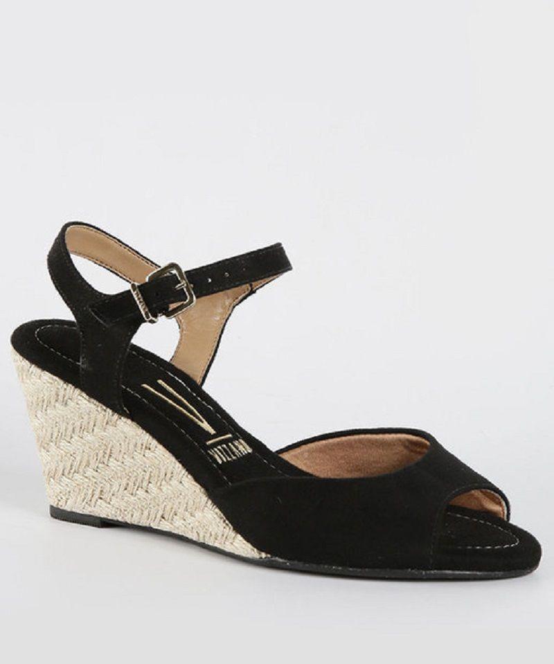 bfdb519c1e sandália feminina salto médio anabela vizzano. Carregando zoom.