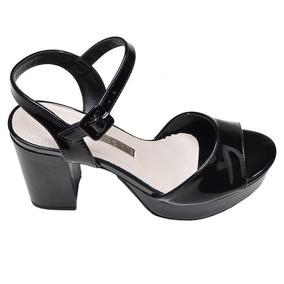 b4cbd6cc4a Sandalia Via Marte Salto Medio Feminino - Sapatos no Mercado Livre ...