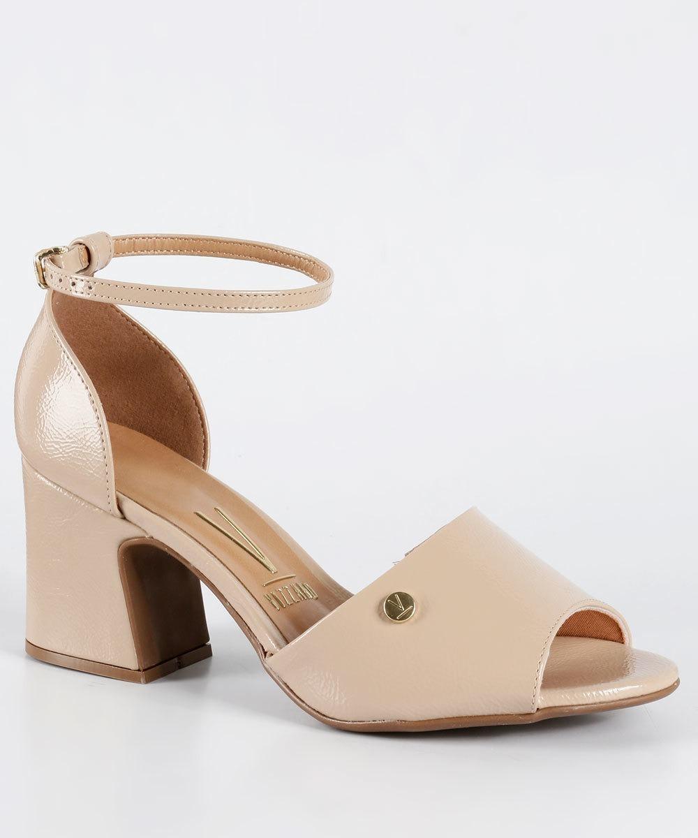 44eb33844d sandália feminina salto médio grosso vizzano 6387102. Carregando zoom.