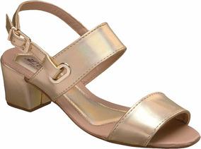 b8a8abfc20 Sandalia Feminina Nadia Carvalho - Sapatos Dourado escuro no Mercado ...