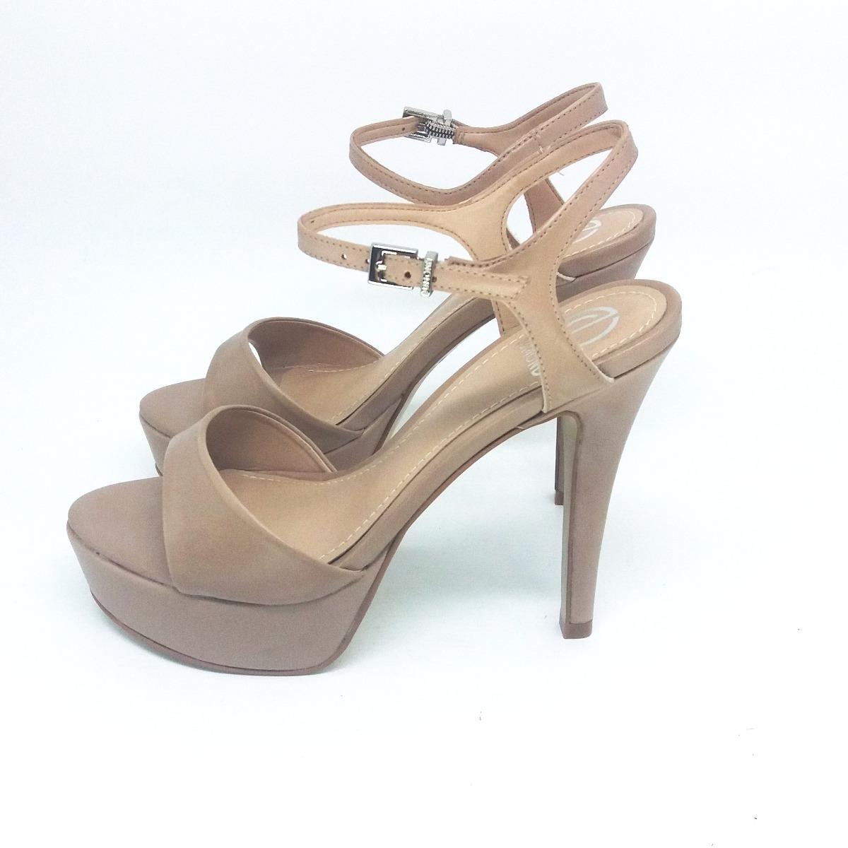3789329624 sandália feminina salto plataforma dumond nude 4113798. Carregando zoom.