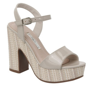 50b145d80 Sapato Feminino 36 Cinza Dandara Salto Vírgula Laço Melissa ...