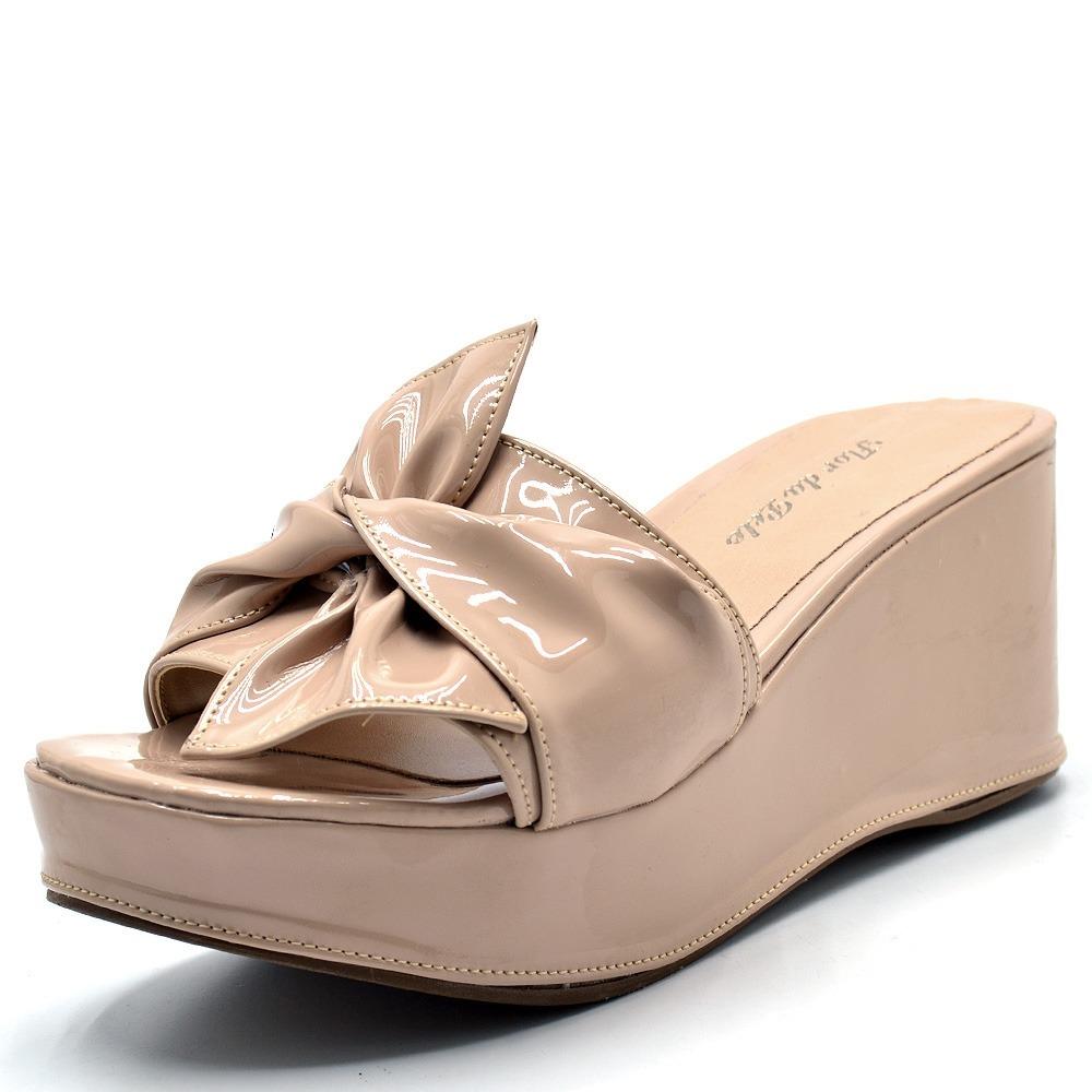 c78f55348a sandalia feminina tamanco salto medio laço. Carregando zoom.
