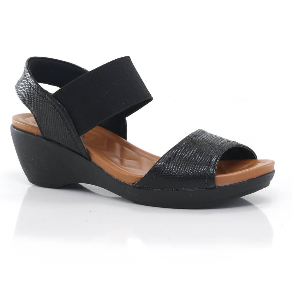 deb38030c Sandália Feminina Usaflex Em Couro - Vanda Calçados - R$ 159,99 em ...
