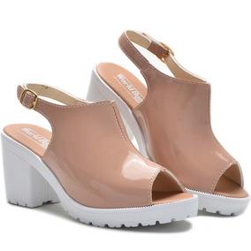 ba1aa6c35d Percata Feminino Salto Plataforma - Sapatos no Mercado Livre Brasil