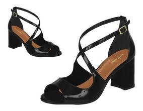 e93ebedf5 Sandalia Via Uno Salto Grosso - Calçados, Roupas e Bolsas com o ...
