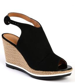 aab9c2df91 Sandalia Anabela Vizzano Camurça 34 - Sapatos Preto no Mercado Livre Brasil
