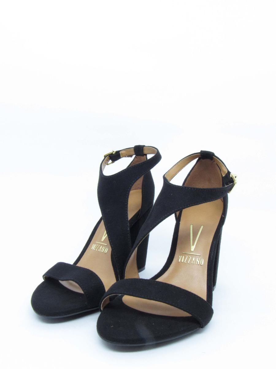 fda1a8112 sandalia feminina vizzano lovers salto grosso camurça. Carregando zoom.