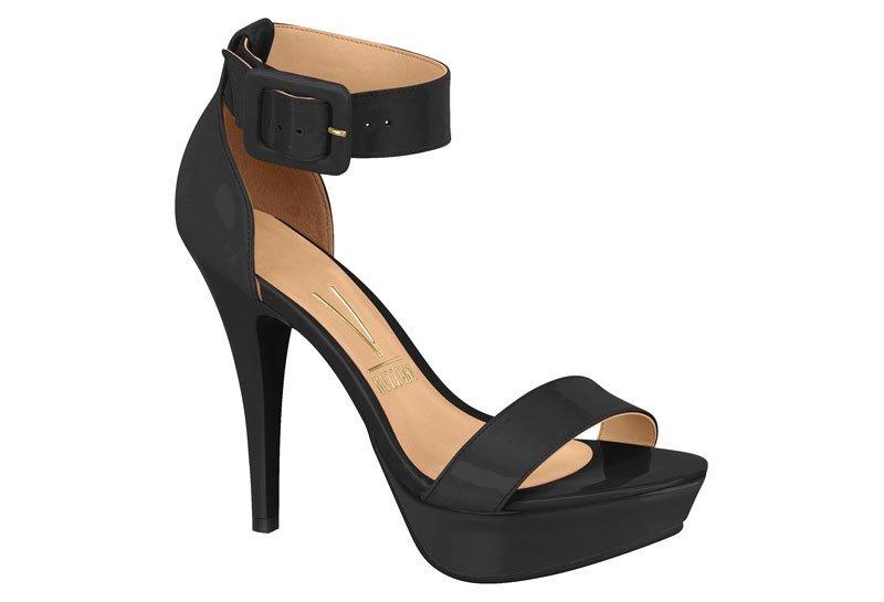 cf9a54813 sandália feminina vizzano meia pata salto alto preto 6230313. Carregando  zoom.