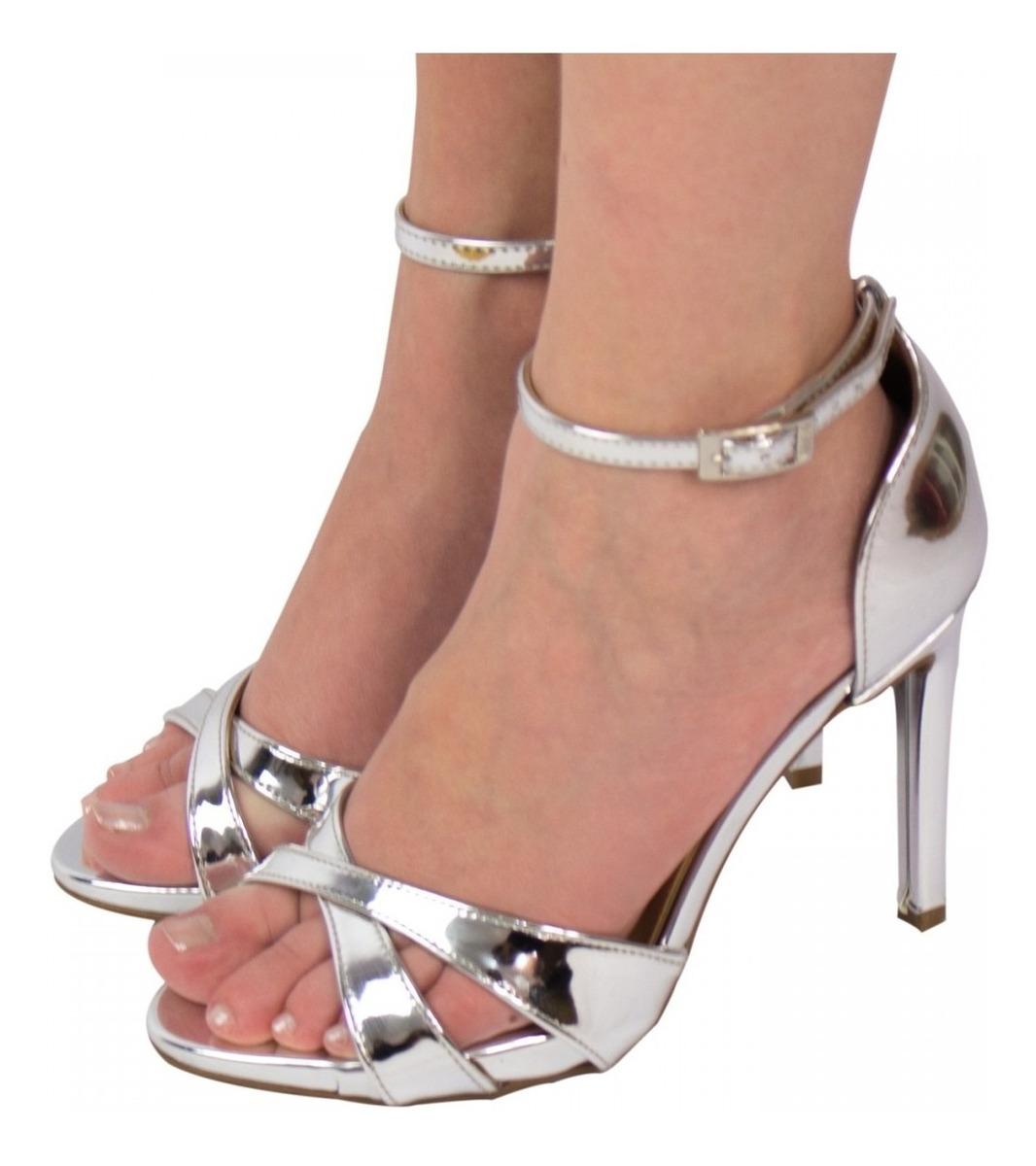 8bd3846bc768e7 sandália feminina vizzano metal glamour salto fino 6302.107. Carregando  zoom.