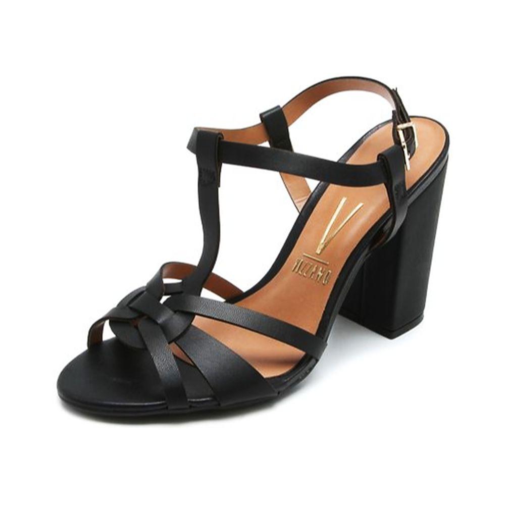 2c9d65af66 sandália feminina vizzano pelica preta 009196. Carregando zoom.