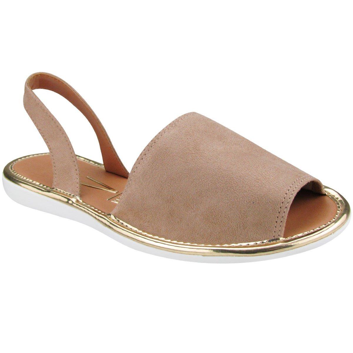 e31ebf5629 sandália feminina vizzano rasteira avarca bege 6280100. Carregando zoom.