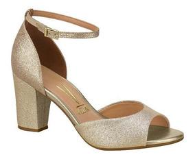 524559a73f2c2 Salto Com Glitter Dourado - Calçados, Roupas e Bolsas com o Melhores Preços  no Mercado Livre Brasil