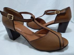 f38acfabf Sandalia Salto Quadrado Sandalias - Sapatos para Feminino com o Melhores  Preços no Mercado Livre Brasil