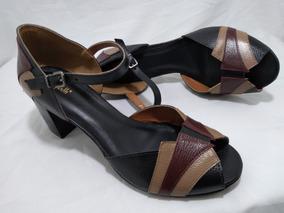 e9c52539e Sapatos De Salto Feminino Numero 41 E 42 Sandalias - Sapatos com o ...