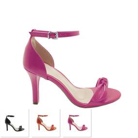 9cf597d97 Sandalias De Salto Alto Com Laco - Sapatos para Feminino no Mercado ...