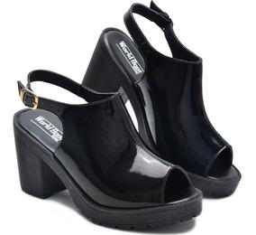 3848c5349 Sandalias De Saltos Tamanho Especial 43 E 44 Feminino - Sapatos com ...