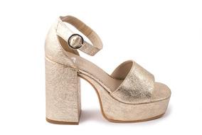 6dc79418 Zapatos Mujer Fiesta Baratos Plateados - Ropa y Accesorios Dorado en ...