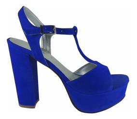 Ropa Mercado Fiesta Azul Para En Mujer Accesorios Sandalias Y Aq43jL5R