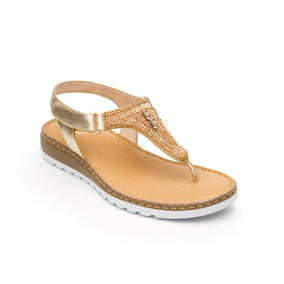 166ca28b Sandalias Flexi 255 Cm Doradas - Zapatos en Mercado Libre México