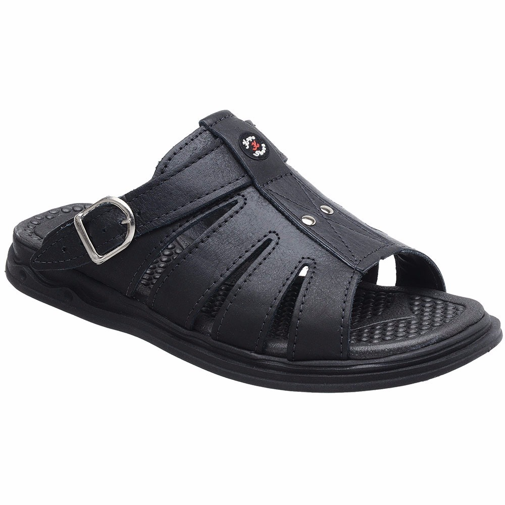 55149b5f43 sandália franciscana chinelo masculina couro anti-stress. Carregando zoom.
