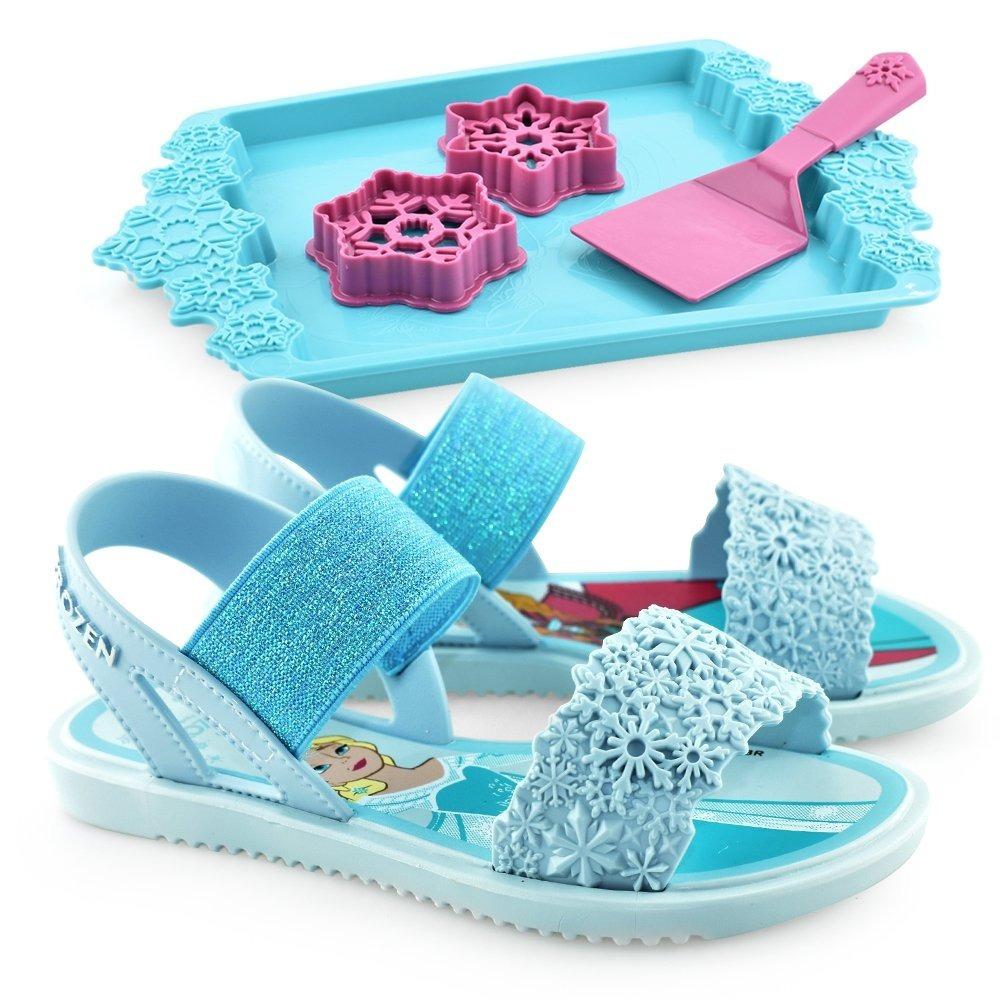 dbc7ffbe6f sandália frozen acompanha brinquedo infantil feminina c nota. Carregando  zoom.