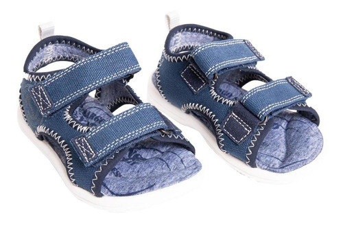 sandalia galaxy travel azul stepps