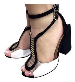 631a106162877 Sapato Salto Feminino Passarela Chinelos - Sapatos para Masculino ...