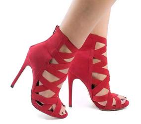 4c4723a92 Sapatos Femininos - Sapatos Vermelho em Rio Grande do Norte no ...