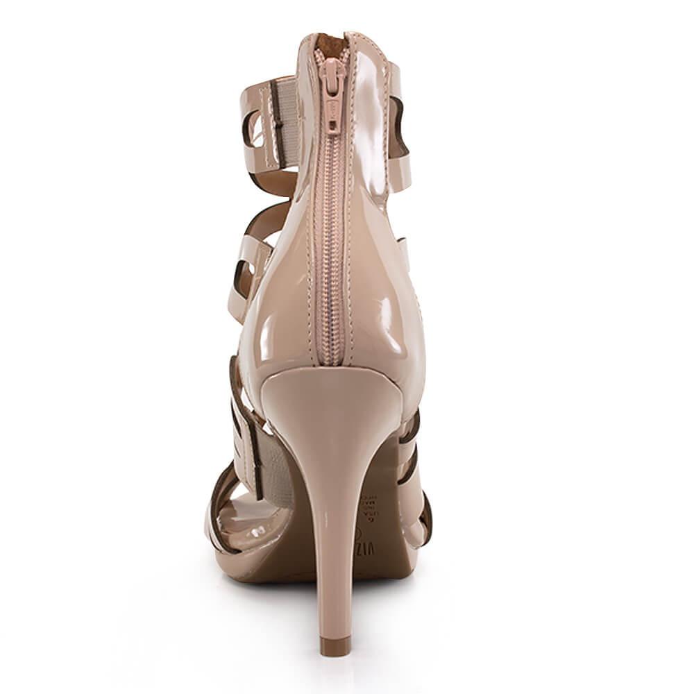 e842d9c90 sandália gladiadora vizzano em verniz - vanda calçados. Carregando zoom.