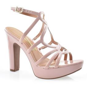 b8f3904c76 Sandalia Gladiadora Salto Alto Rosa - Sapatos no Mercado Livre Brasil