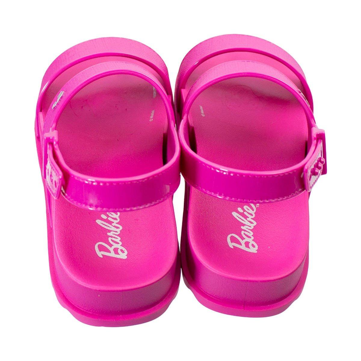 4377da2d2b sandália infantil grendene barbie duo shine com bolsa 21632. Carregando  zoom... sandália grendene bolsa. Carregando zoom.