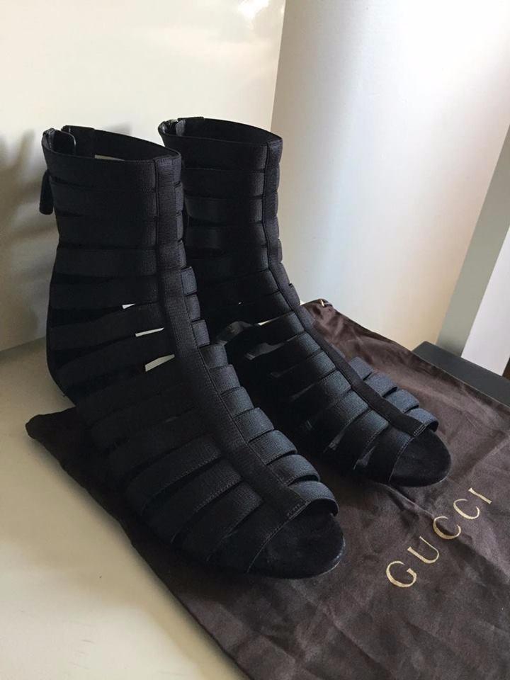 29969280a Sandália Gucci Isadora Stretchy Gladiator - R$ 898,00 em Mercado Livre