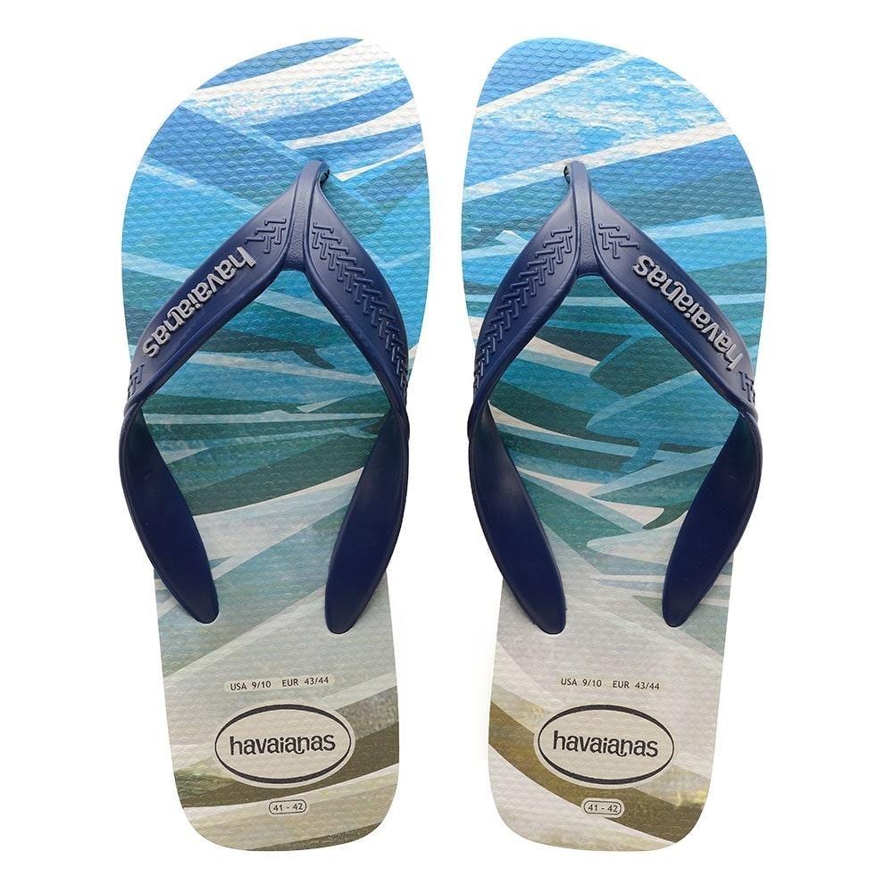 7fdf0466c0931f Sandália Havaianas Surf Bege Palha E Marinho 37 38 - R  42