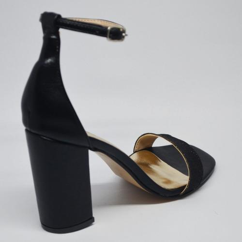 sandalia, heiko, taco 9cm. art7000