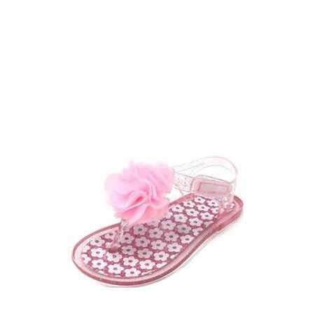 gran venta suave y ligero disponibilidad en el reino unido Sandalia Huarache Para Niña Color Rosa Jelly Plástico No. 18