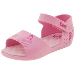 7e6dcbac8b Sandália Infantil Baby Princess Rosa Grendene Kids- 21842