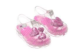1cc453fe88 Sandália Infantil Barbie Unicórnio Femininbebê Calçado Crocs