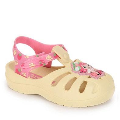 sandalia  infantil feminina crocks moranguinho frete gratis