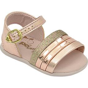 31876b1d1a Sandalia Metalizada Infantil - Sapatos no Mercado Livre Brasil