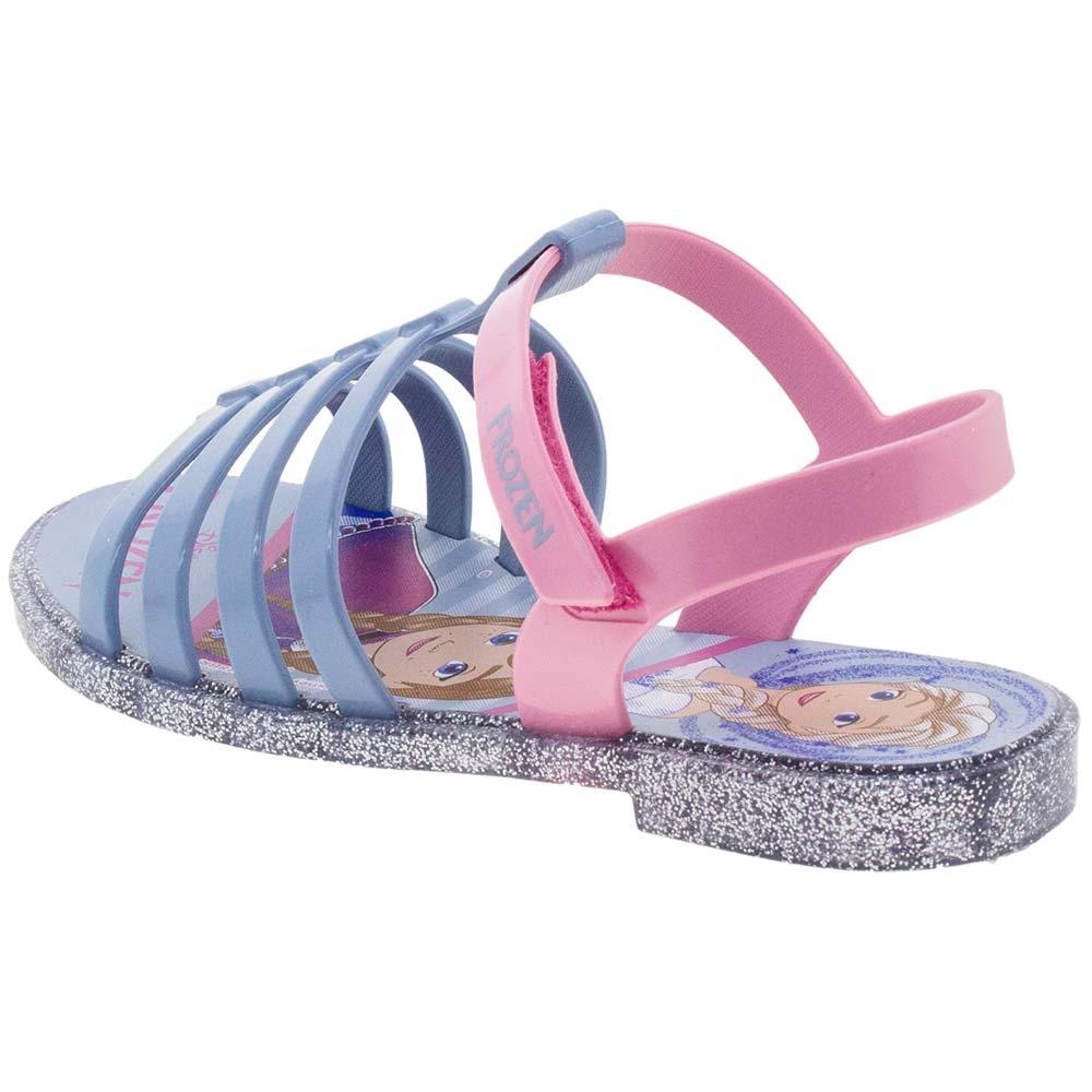 72a4bc1a71 sandália infantil feminina frozen azul prata grendene kids -. Carregando  zoom.