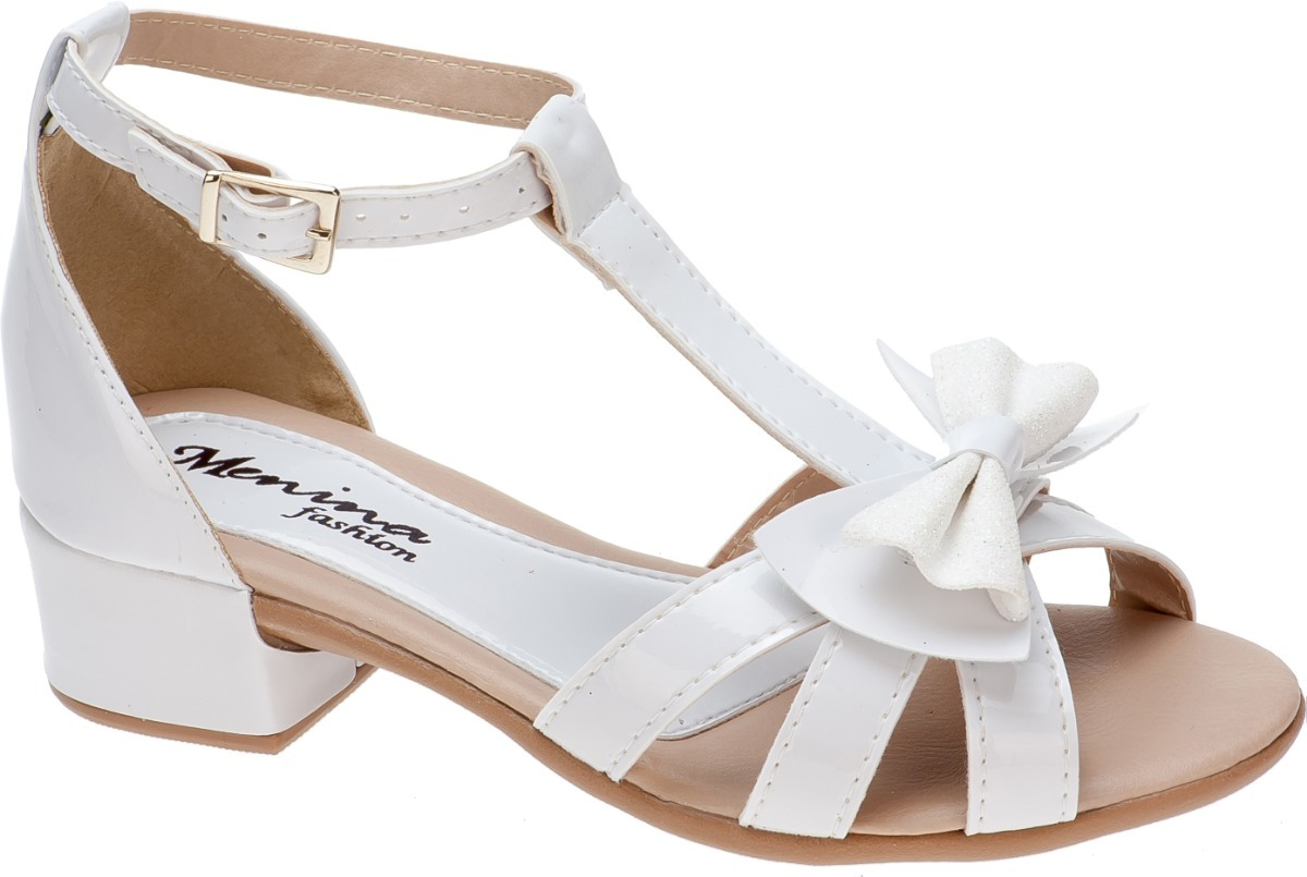 53e3c312a sandalia infantil feminina menina salto baixo festa elegante. Carregando  zoom.