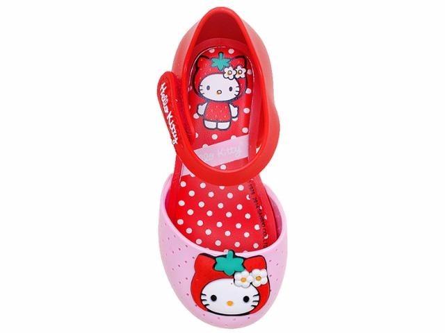 d7f07d60de Sandália Infantil Feminina My Fruit Hello Kitty Red - 21198 - R  29 ...