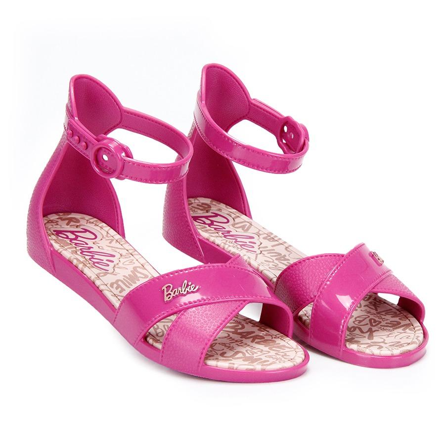 02b39723cac sandália infantil grendene barbie confeitaria - pink. Carregando zoom.